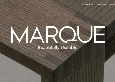 Marque Furniture website